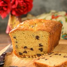 Peanut Butter Chocolate Chip Quick Bread