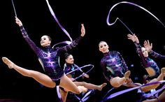 5. Rhythmic gymnastics was the sport I enjoyed watching most of all during the London 2012 Summer Olympics.