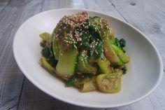 Salziger Pak Choi Salat