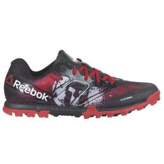 3f7d4eb641189f Reebok All Terrain Super Spartan Womens Running Shoe 7.5 Red-Black-White  Best Running