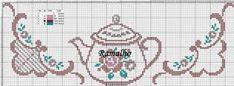 Cross Stitch Borders, Cross Stitch Rose, Cross Stitching, Cross Stitch Embroidery, Cross Stitch Patterns, Cross Stitch Kitchen, Table Toppers, Christmas Cross, Needlework