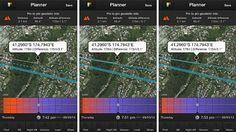 PhotoPills Moon Silhouettes Plan