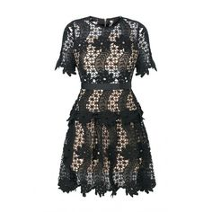 Sistaglam by Lipstick Boutique Eliana Crochet Lace Prom Dress In Black (€96) ❤ liked on Polyvore featuring dresses, long dresses, long sleeve short cocktail dresses, sleeved prom dresses, little black dress and prom dresses