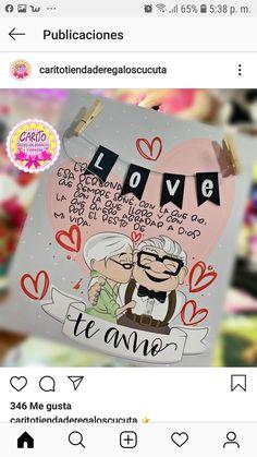 Cute Birthday Gift, Diy Birthday, Birthday Cards, Soy Luna Logo, Love Gifts, Diy Gifts, Diy Arts And Crafts, Paper Crafts, Up Pixar