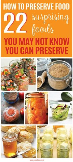 Preserving food is a fun and economical way to make fresh foods available year-round. There's no better way to capture the fresh harvest flavors than by sealing them in a jar or drying them to enhance our often drab winter recipes. By preserving our food, we get to re-taste flavor we saved long ago. Learn how to preserve your seasonal glut of fruit and veggies here.