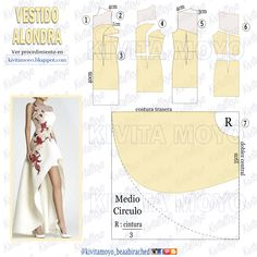 Alondra, Classy Outfits, Pattern Fashion, Sewing Hacks, Diy Clothes, Gowns, Dresses, Design, Blog