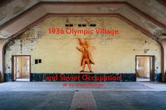 Photo series feat. Elstal barracks and the 1936 Olympic Village near Berlin
