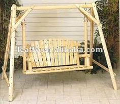 1000 images about columpios on pinterest google search and swings - Columpio madera jardin ...