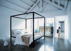 want this bed, and higher ceilings...