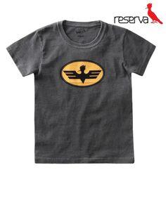 c8e65a1380 Camiseta Mini Pica-Pau Morcego Tamanho  2 até 8 anos
