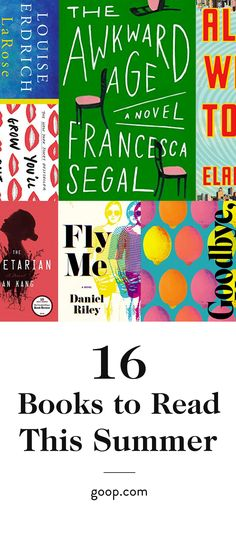 The books we can't wait to read this summer.
