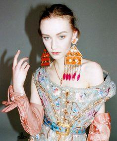 Vivienne Westwood - those earrings!