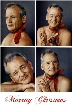 bill murray - probably one of the best people Not quite hot.but he was just great in lost in translation Joe Dimaggio, Lost In Translation, Miles Davis, Funny Christmas Cards, Christmas Humor, Merry Christmas, Holiday Cards, Christmas Cartoons, Family Christmas