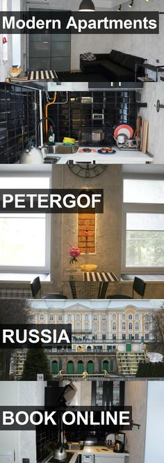 Modern Apartments in Petergof, Russia. For more information, photos, reviews and best prices please follow the link. #Russia #Petergof #travel #vacation #apartment
