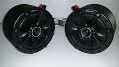 "Kicker Golfcart Speakers Pods Club car EZ Go Yamaha Radio Stereo Enclosure Audio Golf Cart 6.5"" Speaker"
