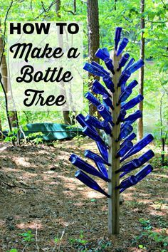 Superb {Momu0027s Garden} Blue Bottle Tree