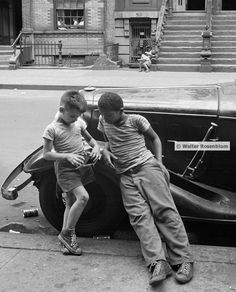 Daily Life in East Harlem, NYC, 1952