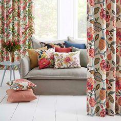 Timeless Grace by Warwick Fabrics Furniture Fabric, Interior Design Furniture, Furniture Design, Furnishings, Drapes And Blinds, Warwick Fabrics, Beautiful Pillows, Curtain Designs, Lounge Curtains