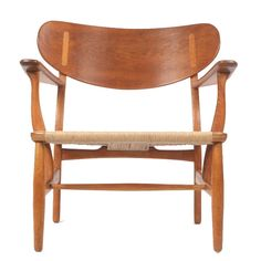 Easy Chair in Oak by Hans Wegner at 1stdibs
