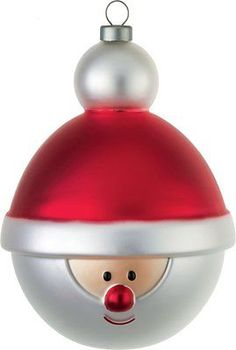 #Alessi hand decorated #babbonatale #christmas bauble in blown glassmulti-colour , View more on the LINK: http://www.zeppy.io/product/gb/2/152039289265/