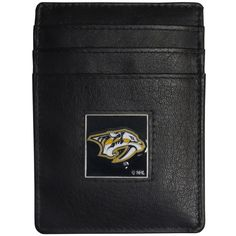 "Checkout our #LicensedGear products FREE SHIPPING + 10% OFF Coupon Code ""Official"" Nashville Predators Leather Money Clip/Cardholder - Officially licensed NHL product Genuine fine grain leather wallet Credit card slots Magnetic money clip that will not damage your cards Metal Nashville Predators emblem with enameled team colors - Price: $22.00. Buy now at https://officiallylicensedgear.com/nashville-predators-leather-money-clip-cardholder-hch40bx"