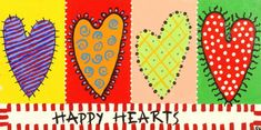 A variation of something like this... Make multiple hearts - each with a different African motif pattern. Underneath in the rectangle replace the words happy hearts with LET US SOW LOVE  above idea from: Happy Hearts at EXPO University of Southern California: Community ...