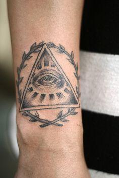 3rd eye triangle.