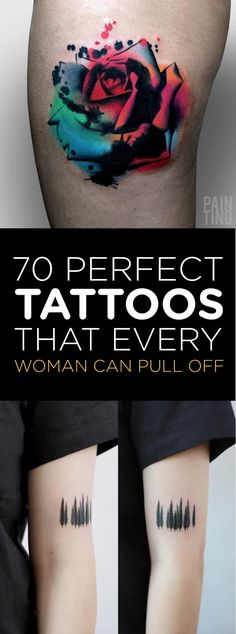 70 Perfect Tattoos That Every Woman Can Pull Off | TattooBlend                                                                                                                                                                                 More