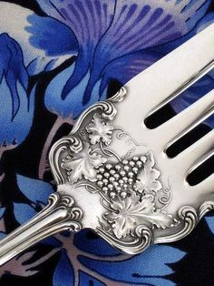 "1906 Moselle Tine Detail (American Silver Co.) Art Nouveau Rated ""Most Extremely Collectible"" 