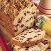 Cranberry Banana Bread. -  this is similar to the weight watchers recipe i've made.  i use spenda instead of sugar and i use unsweetened applesauce instead of a banana.  no nuts.
