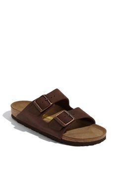 Birkenstock 'Arizona' Oiled Leather Sandal (Women) available at #Nordstrom