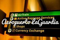 Aeropuerto LaGuardia:  tiene restringidos los vuelos internacionales #nuevayork #viajar #usa