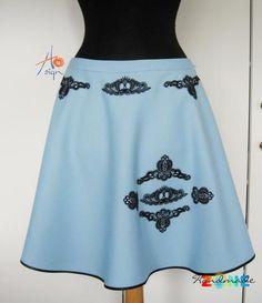 Fusta clos Coronita Handmade Skirts, Cloths, Couture, My Style, Crafts, Fashion, Crowns, Drop Cloths, Moda