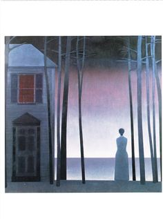Edge of the world by Will Barnet