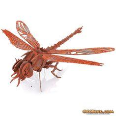 Plasma Cut Dragonfly Digital Project Files