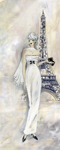 Elegant Paris 1 CROSS STITCH PATTERN 435 by Maxispatterns on Etsy