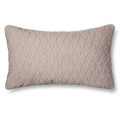 Jersey Diamond Lumbar Throw Pillow - Room Essentials™