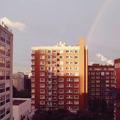 #   Audrey Leroy's Instagram: http://instagram.com/p/oK-QMeDb1p/  #instagram #sunset #rainbow #paris
