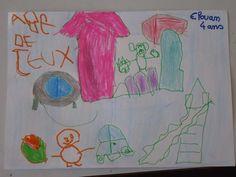"""[CONCOURS] Voici les premiers participants à notre concours """"Dessinez vos vacances d'été 2013"""" Elouan - 4 ans"""