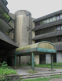 Hotel Monte Palace abandoned for 21 years. São Miguel, Azores