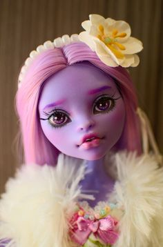 OOAK - Monster High - Jane Boolittle - Repaint