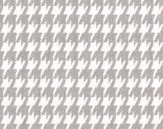 HOUNDSTOOTH Premier Prints Italian Brown by SistersFabricandMore