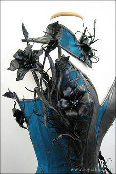 """Couture Corset Outfit """"Mystique Lilies"""""""