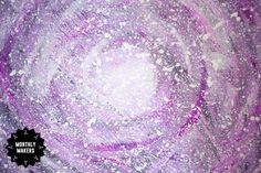 Galax-målning av Beatrice på Herbariumet Amethyst, Texture, Crystals, Crafts, Surface Finish, Manualidades, Amethysts, Crystal, Handmade Crafts
