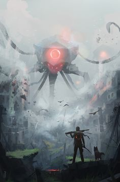 Invaders must Die by Ismail Inceoglu | Sci-Fi | 2D | CGSociety