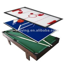 #3 In 1 Multifunction Game Table, #multi Function Table Game