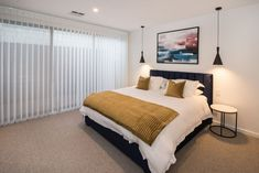 20 tips will help you improve the environment in your bedroom Wonderwall Love the wonderful wall of sliding doors in the immaculate Marine Terrace bedroom by Addstyle Master. Bedroom Inspo, Bedroom Decor, Passive Design, Bedroom Windows, Wonderwall, Sliding Doors, Master Suite, Living Area, Terrace