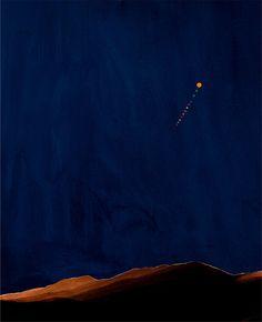 Nacht im Riesengebirge [Night in the Riesengebirge] byFlorian Maier-Aichen