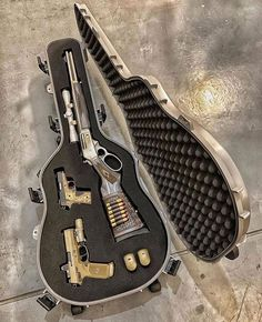 Zombie Weapons That People Really Obsessed With - That is all speculation. I haven't held it's place in a zombie apocalypse, nor am I a professio - Zombie Weapons, Weapons Guns, Guns And Ammo, Zombie Apocalypse, 2 Guns, Airsoft, Armas Ninja, Weapon Storage, Gun Cases
