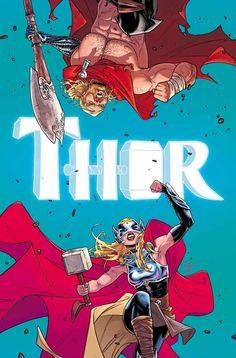 Thor by Russel Dauterman